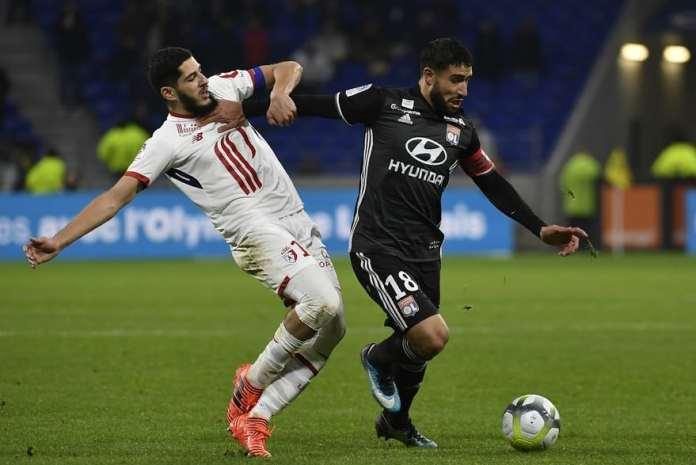 Pnturi fotbal Lille - Lyon Ligue 1