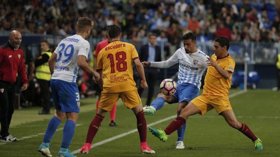Ponturi fotbal Malaga - Sevilla La Liga