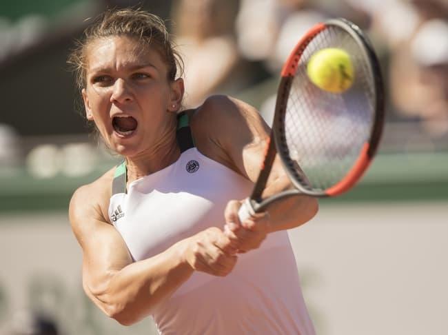 Ponturi tenis Simona Help - Alison Riske Roland Garos