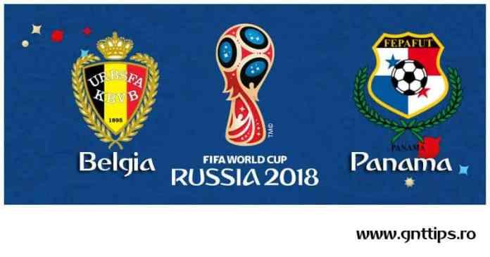 Ponturi fotbal - Belgia - Panama - Campionatul Mondial - Grupa G - 18.06.2018