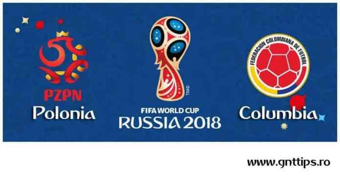 Ponturi fotbal - Polonia - Columbia - Campionatul Mondial - Grupa H - 24.06.2018
