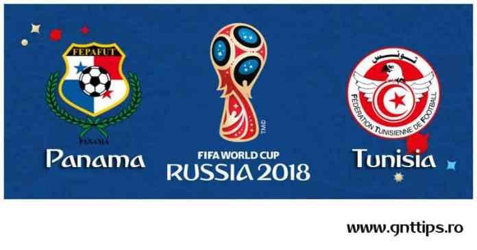 Ponturi fotbal - Panama - Tunisia - Campionatul Mondial - Grupa G - 28.06.2018