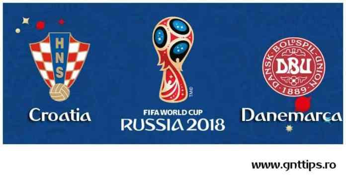 Ponturi fotbal - Croatia - Danemarca - Campionatul Mondial - Optimi - 01.07.2018