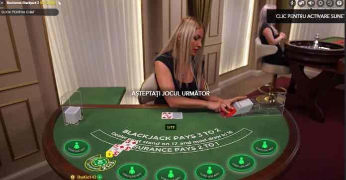 Joaca in cazinoul live Unibet