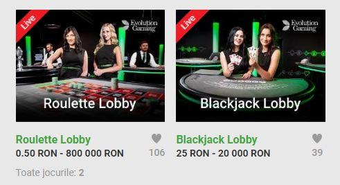 Joaca in Cazinoul Unibet Live pana pe 12 august pentru premii de 100.000 RON