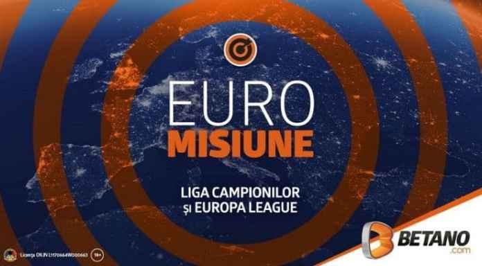20% in plus pentru pariurile pe Liga Campionilor si Europa League (1-2 august)