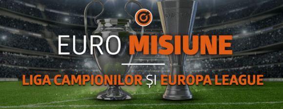 200 Ron Fullbet pentru Liga Campionilor si Europa League (6-8 noiembrie)