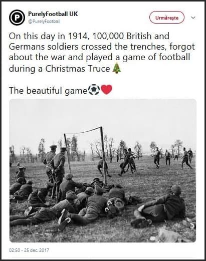 Ce inseamna Boxing Day? Fotbalul de Craciun in Anglia - foto 1914