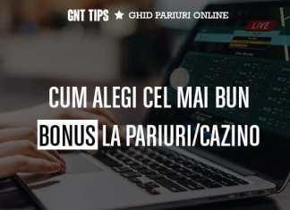 Care este cel mai bun bonus la oepratorii online din Romania?