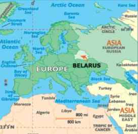 harta belarus