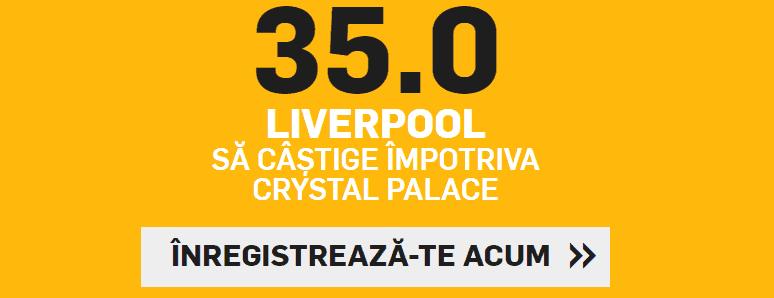 Cota 35.00 pentru Liverpool