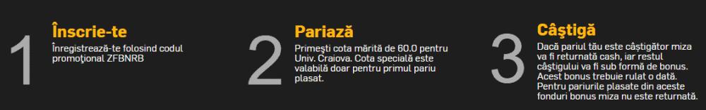 Cota speciala pentru Craiova