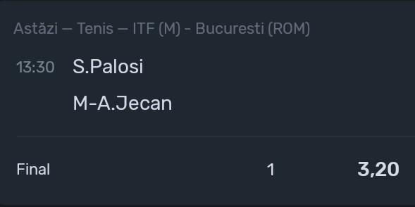 Ponturi tenis Bucuresti
