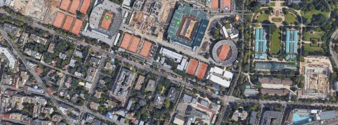 Imagine din satelit Paris
