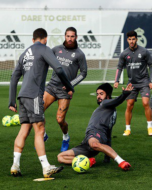 Ponturi Barcelona Real Madrid - Antrenament Real Madrid