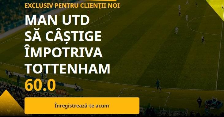 Cota 60.00 pentru Manchester United
