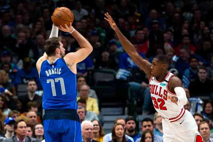 Luka Doncic vs Bulls