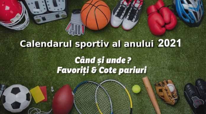 Calendar Sportiv