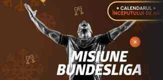 Pariază pe Bundesliga și primești 20 RON + 4 Jetoane de Aur
