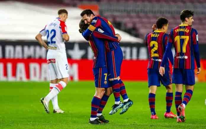 Promotie Barcelona vs PSG