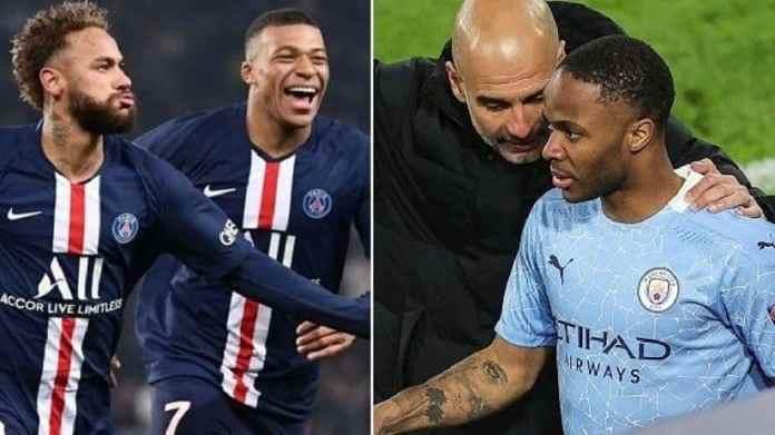 Ponturi pariuri PSG vs Manchester City