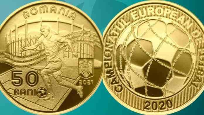 Moneda EURO 2020 lansata de BNR