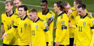 Suedia, cea mai bătrână națională de la Euro 2020