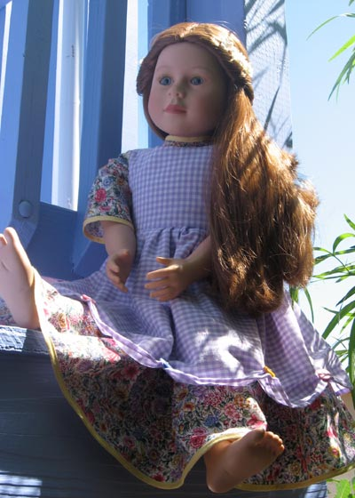 The Katherine dress and apron