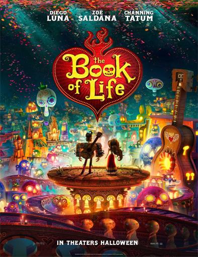 Poster de The book of life (El libro de la vida)