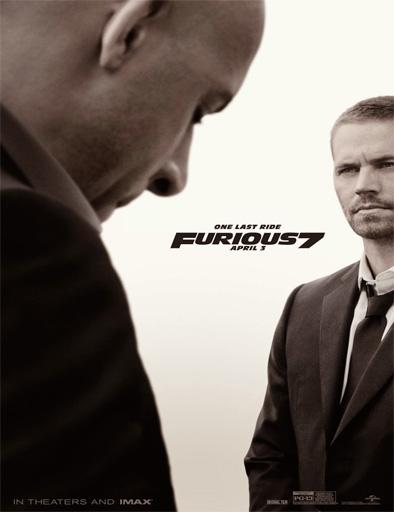 Poster de Fast & Furious 7 (Rápidos y Furiosos 7)