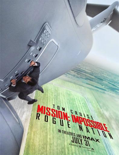Poster de Misión imposible 5: Nación secreta