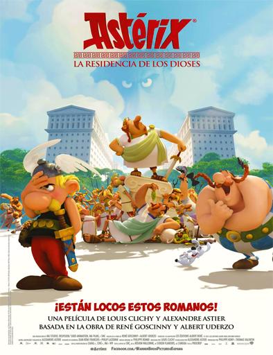 Poster de Asterix: La residencia de los Dioses