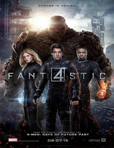 Poster de The Fantastic Four (Los 4 Fantásticos)