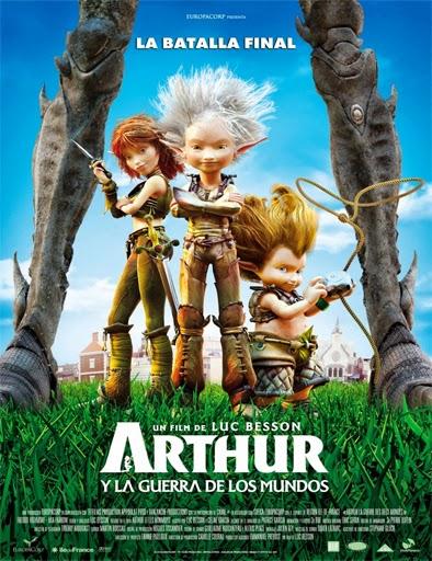 Ver Arthur y la guerra de los mundos 2010 online