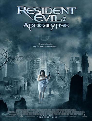 Poster de Resident Evil 2: Apocalipsis