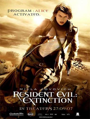 Poster de Resident Evil 3: Extinción