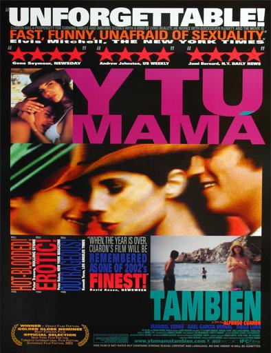Poster de Y tu mamá también