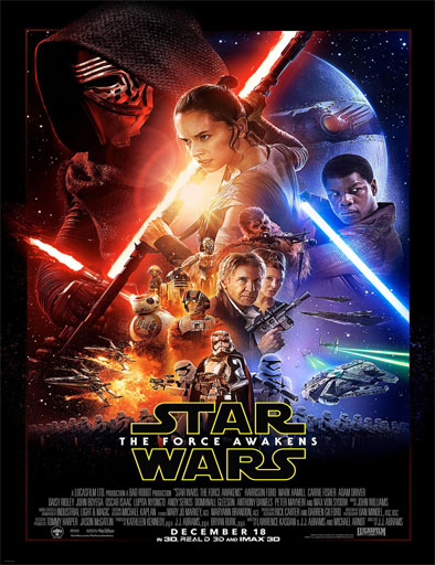 Poster de Star Wars: El despertar de la fuerza