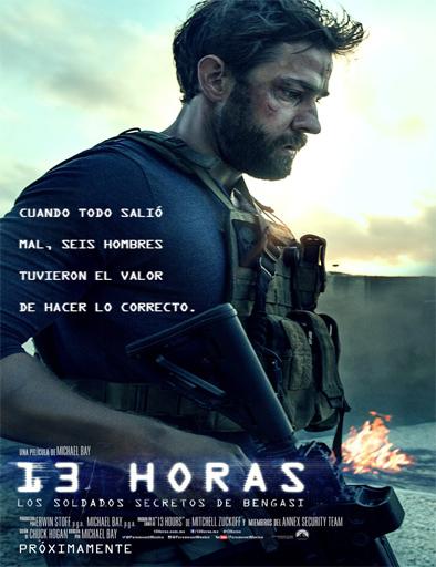 Poster de 13 horas: Los soldados secretos de Bengasi