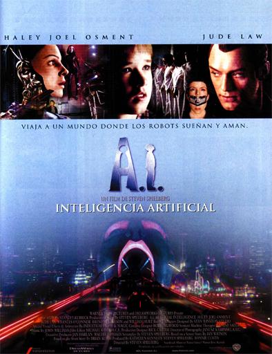 Poster de A.I. Inteligencia Artificial