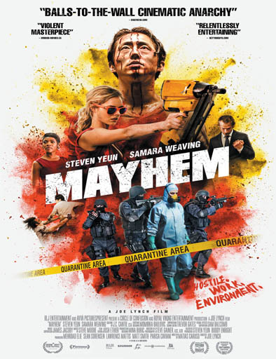 Poster de Mayhem