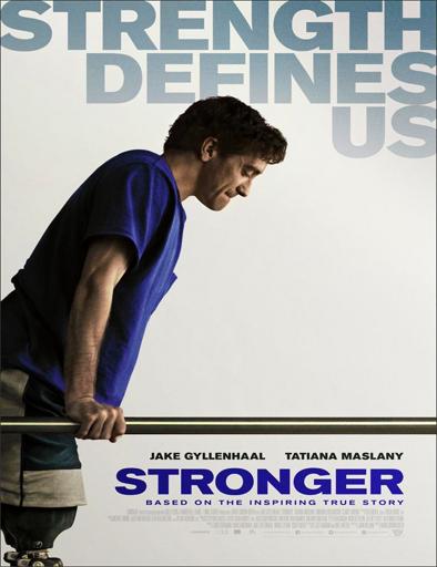 Poster de Stronger (Más fuerte que el destino)