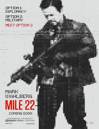 Poster de Mile 22 (Milla 22: El escape)