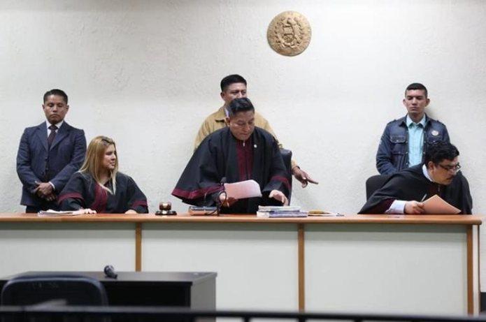 Tribunal C de Mayor Riesgo concluye el debate y va a deliberar en lugar secreto. (Foto Prensa Libre: Érick Ávila)