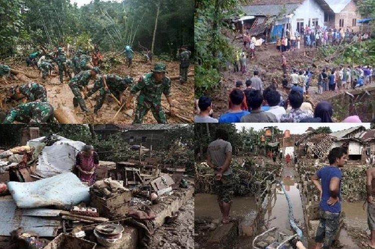 Resultado de imagen para Deslaves indonesia