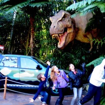 Terrifying t-rex