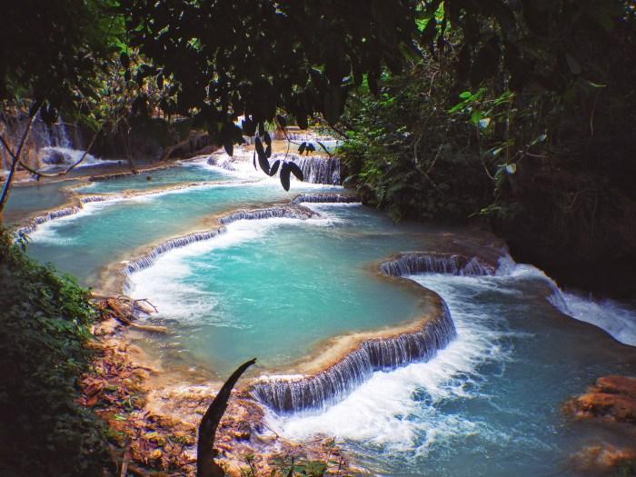 Kuang Si Waterfall near Luang Prabang, Laos