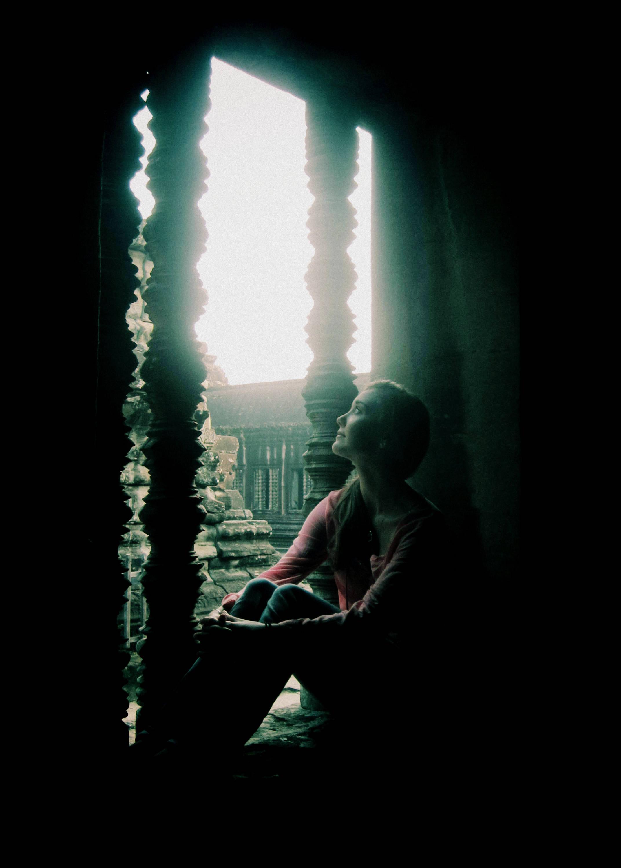 In Angkor Wat, Cambodia