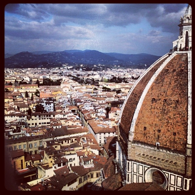 Overlooking Florence, Italy