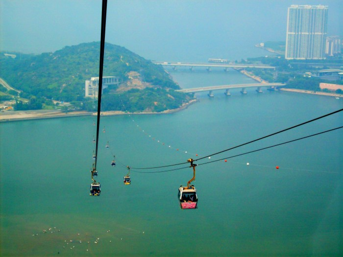 Crystal Cars over Hong Kong